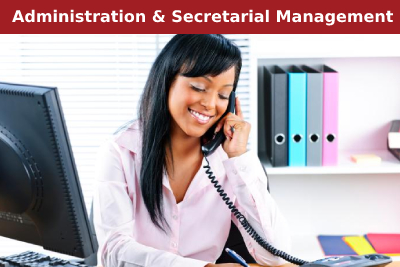 Administration and Secretarial Management Courses
