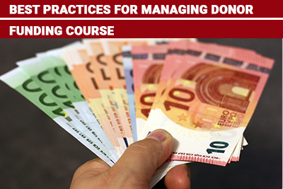 Best Practices for Managing Donor Funding Course