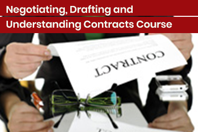 Negotiating, Drafting and Understanding Contracts Course
