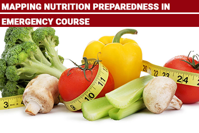 Mapping Nutrition Preparedness in Emergency Course