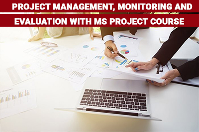 Project Management, Monitoring and Evaluation with MS Project Course