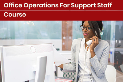 Office Operations For Support Staff Course
