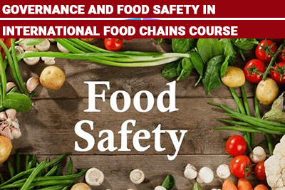 Governance and Food Safety in International Food Chains Course