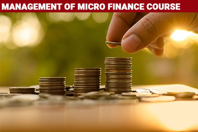 Management of Micro Finance Course