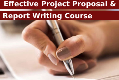 Effective Project Proposal and Report Writing Course