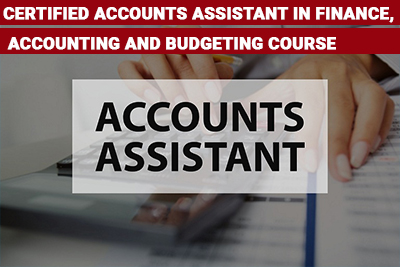 Certified Accounts Assistant in Finance, Accounting and Budgeting Course