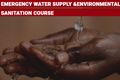 Emergency Water Supply and Environmental Sanitation Course