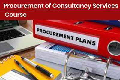 Procurement of Consultancy Services Course