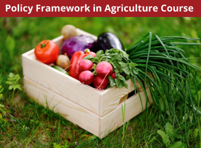 Policy Framework in Agriculture Course