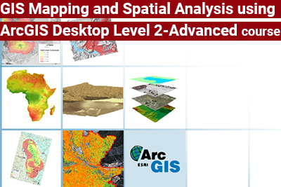 GIS Mapping and Spatial Analysis using ArcGIS Desktop Level 2-Advanced course
