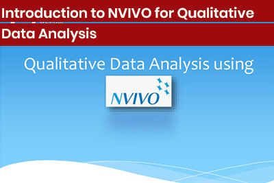 Introduction to NVIVO for Qualitative Data Analysis